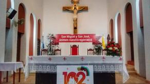 ELDORADO:´´SAN MIGUEL Y SAN JOSÉ, ANIMEN NUESTRA ESPERANZA´´