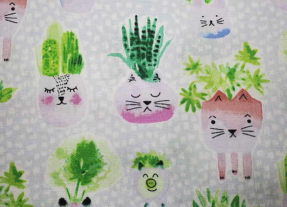 Meows it Going Planter Pals