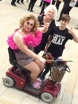 Oldham Pride Market 2018 KY Kelly Owen and Nan