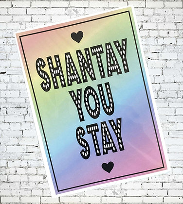 SHANTAY YOU STAY DRAG RACE RUPAUL DRAG QUEEN LESBIAN GAY LGBT PRIDE
