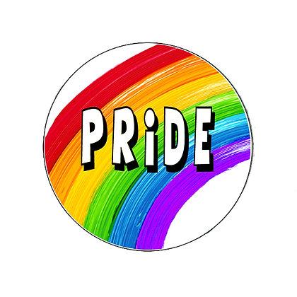 PRIDE RAINBOW LGBT PROUD GAY LESBIAN TRANS