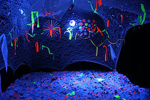 Phosphène installation lumineuse interactive Joël Bonnet