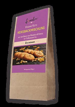 Vegane Keto Keksbackmischung mit Süßungsmittel