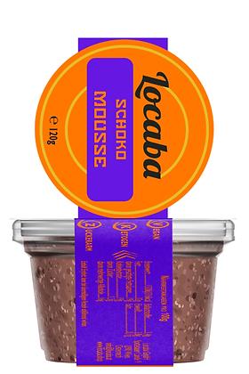 Veganes Low-Carb Schokomousse