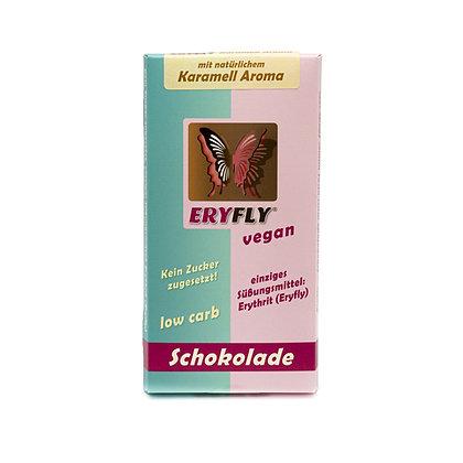 """ERYFLY SCHOKOLADE """"Karamell Aroma"""" 85g, vegan, low carb"""