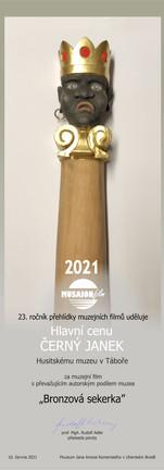 Hlavní cenu  Černý Janek 2021