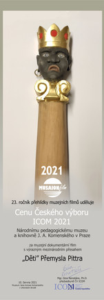 Cenu Českého výboru ICOM 2021