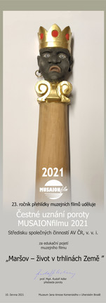 Čestné uznání poroty MUSAIONfilmu 2021