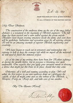 A Letter from Queen Victoria