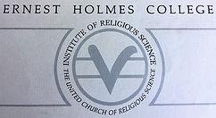 Ernest Holmes certificate  .jpg