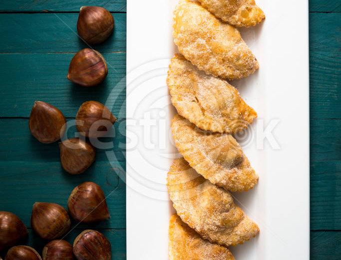 Azevias de castanhas