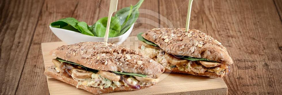 Sandwich de Leitão e pasta de ovo