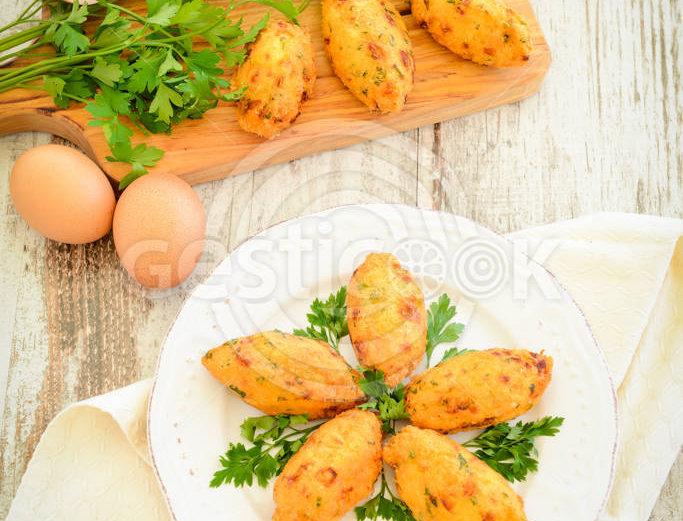 Pastéis ou bolinhos de bacalhau