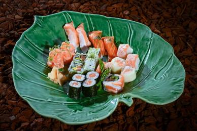 Combinado de Sushi de Salmão