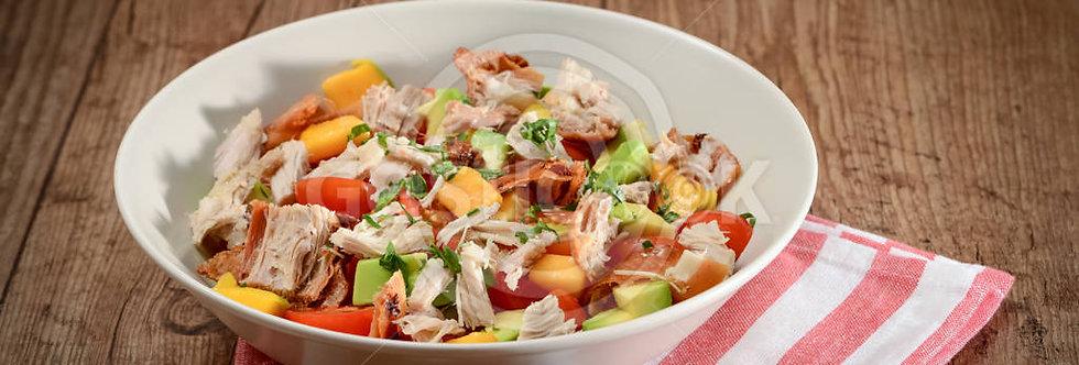 Salada aromática de leitão