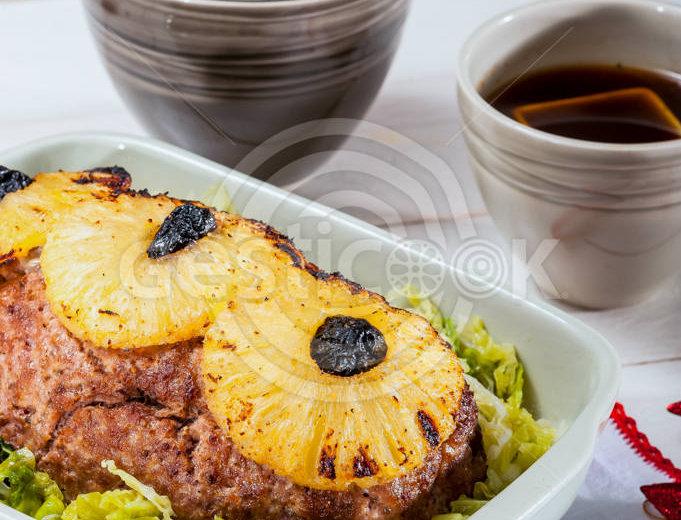Roti com ananás