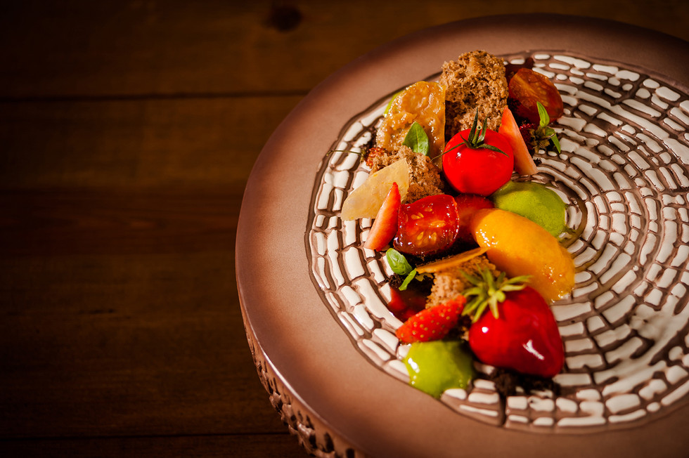 Tomate e Morangos
