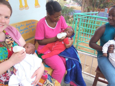 Sécurité alimentaire pour les bébés de l'orphelinat Sanyu Babies' Home, Ouganda