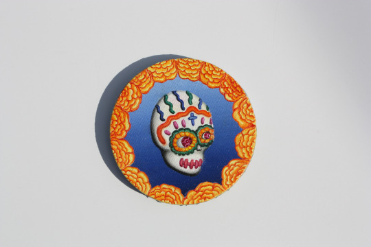 Sugar Skull and Marigolds