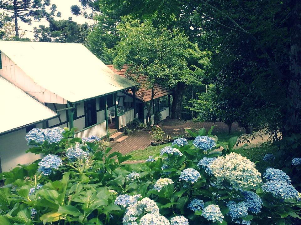 Alojamento e escritório da comunidad