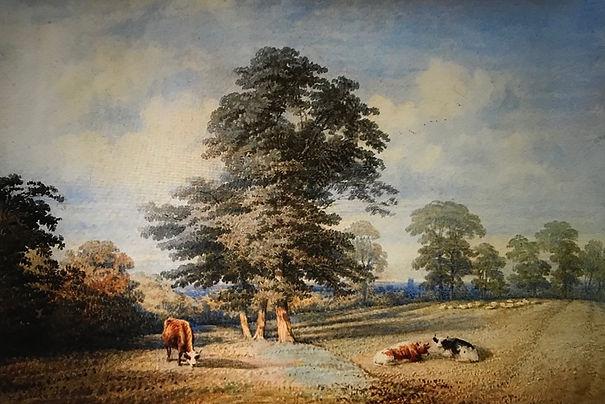 watercolour Cattle in a Landscape.jpg