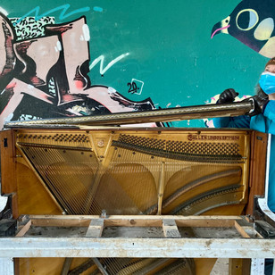 Piano Dismantle with Jude