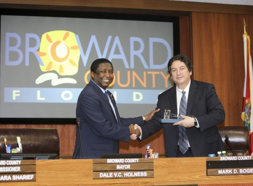 Dale Holness Becomes The First Black Mayor Of Broward County, Florida