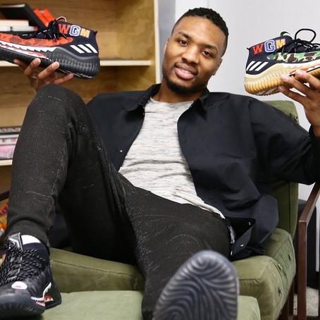 Damian Lillard Unveils Signature Adidas Sneaker Collaboration with BAPE®