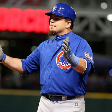 Chicago Cub Slugger, Kyle Schwarber Still Not Cleared To Play In The Field
