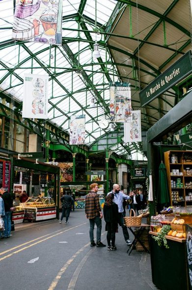 Inside Borough Market