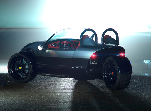 Vanderhall's 2019 Three-Wheeled Roadster