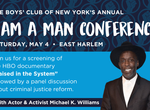 """[Event] """"I AM A MAN"""" Conference Taking Place in Harlem"""