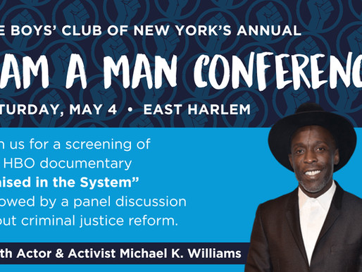 "[Event] ""I AM A MAN"" Conference Taking Place in Harlem"