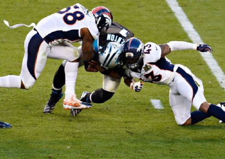 Cam Leads Panthers against Mediocre Bronco Team