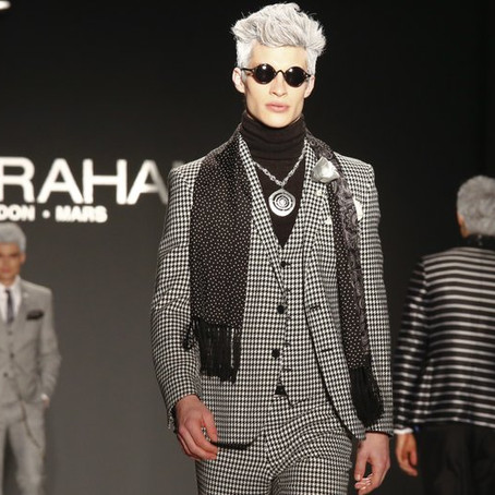 At Men's Fashion Week, a Collection was out of this World
