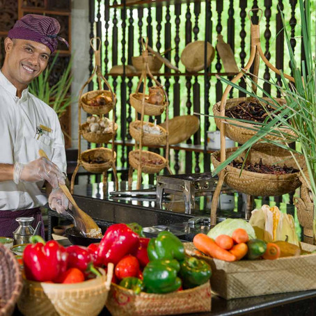 When in Bali Check Out Ayana Resort Cooking Class