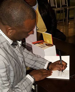 Mitchell Jones Celebrates his Journey During ATL Book Signing