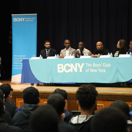"Panel Talks Juvenile Justice Reform at Boys' Club of New York's ""I Am A Man"""