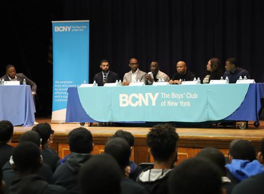 "Panel Talks Juvenile Justice Reform at Boys' Club of New York's ""I Am A Man"""