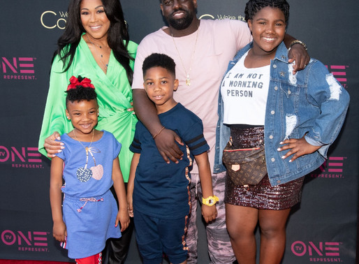 "Erica & Warryn Campbell at Red Carpet Premiere of TV One's ""We're The Campbel"