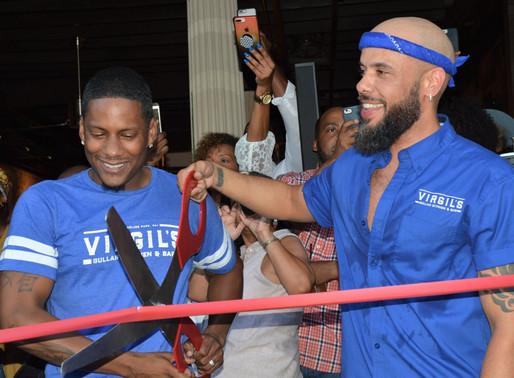 Juan and Gee Smalls Host Virgils Gullah Kitchen Grand Opening