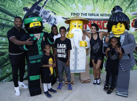 Jamie Foxx, Laura Govan and More Host LEGO NINJAGO Back to School Bash in LA