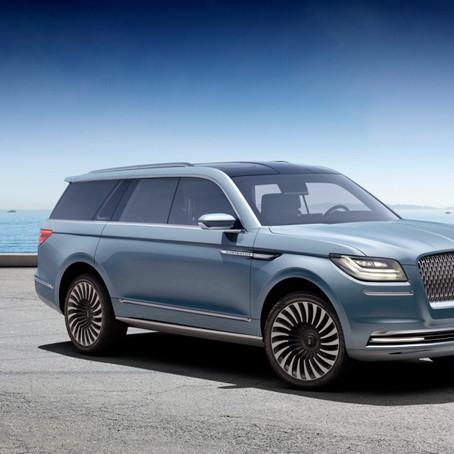 Lincoln Navigator Takes New York Auto Show