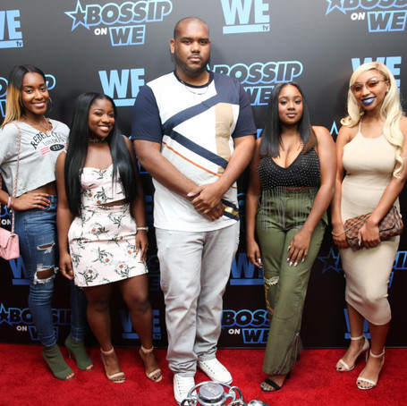 "Bossip & WE tv Celebrate Launch of ""Bossip on WE""; Kenya Moore, Trina, Towanda Brax"