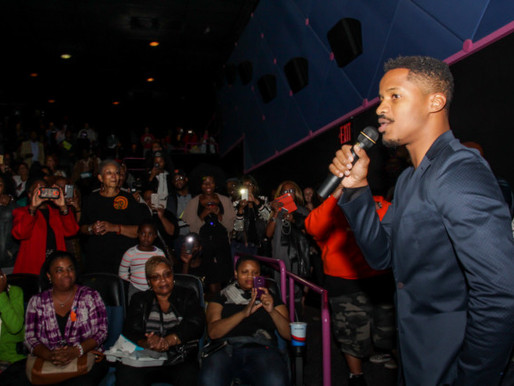 James Fortune, Lexi & Community Leaders Host THE BIRTH OF A NATION Screenings; Nate Parker Atte