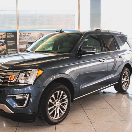 Ford Drive Program Featuring the New 2018 Ford Expedition and Ford Mustang