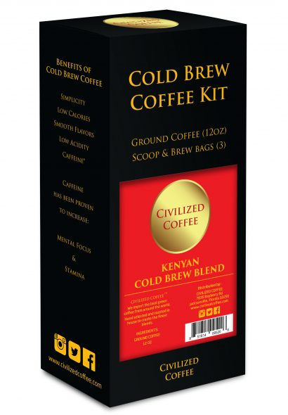 Cold Brew Gift Set by CIVILIZED COFFE