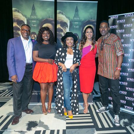 """Greenleaf"" Cast Watch Season 3 Premiere With Atlanta Fans"