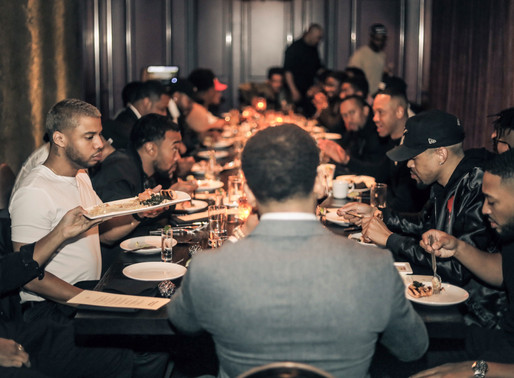 "Mack Wilds Hosts ""The Brotherhood Dinner"" in NYC"