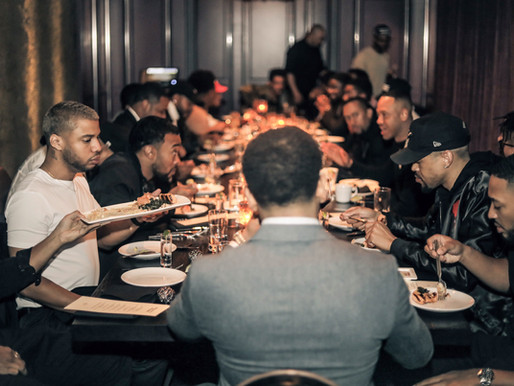 "Mack Wilds Hosts ""The Brotherhood Dinner"" in NYC"